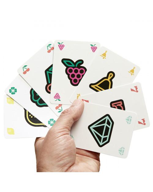 Les cartes du jeu Lucky Jack, dessinées par Jay Fletcher